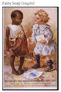 Racist ad from the 1940s.