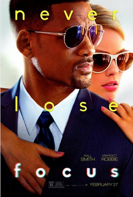 "Theatrical release poster of ""Focus"""